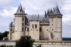 chateau de saumur 免版税库存照片