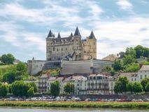 Chateau de Saumur Lizenzfreies Stockbild