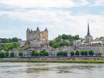 Chateau de Saumur Royalty Free Stock Photography