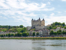Chateau de Saumur Royalty Free Stock Images