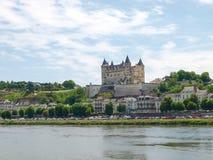 Chateau de Saumur Royalty Free Stock Images