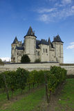 Chateau de Saumur,  Loire Valley, France Stock Photo