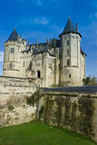 Chateau de Saumur, Loire Valley, France Royalty Free Stock Image