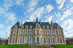 Chateau de Sceaux, Paris, France Images libres de droits