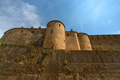 Chateau de Sedan, France Royalty Free Stock Photography