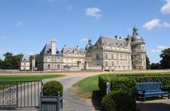 Chateau DE Serrant stock afbeelding