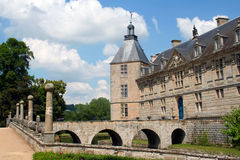 Chateau de Sully Royalty Free Stock Photo