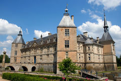 Chateau de Sully Royalty Free Stock Photography