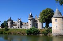Chateau de Sully en el valle del Loira, Francia imágenes de archivo libres de regalías