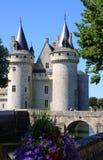 Chateau de Sully en el valle del Loira, Francia imagen de archivo libre de regalías
