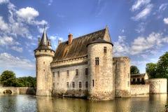 Chateau de Sully-sur-Loire, France. stock photo