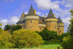 Chateau de Suscinio, Sarzeau, France Royalty Free Stock Images
