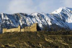 Chateau de Tourbillon royalty free stock photography