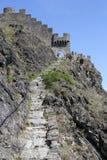 Chateau de Tourbillon, Sion, die Schweiz Lizenzfreie Stockfotografie
