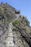 Chateau DE Tourbillon, Sion, Zwitserland Royalty-vrije Stock Fotografie