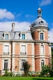 Chateau De Trousse-Barriere arkivbilder