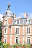 Chateau De Trousse-Barriere. This beautiful castle is situated in the village of Briare-le-canal in France. Today it is used mainly for art exhibitions which can Stock Images