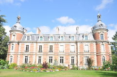 Chateau De Trousse-Barriere. This beautiful castle is situated in the village of Briare-le-canal in France. Today it is used mainly for art exhibitions which can Royalty Free Stock Images