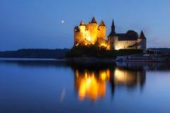 chateau de Val,法国 免版税图库摄影