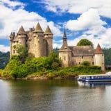 chateau de Val,法国 免版税库存照片