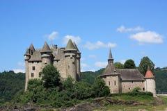 Chateau de Val Fotografie Stock Libere da Diritti