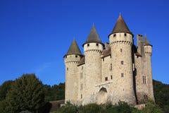 Chateau de Val au coucher du soleil Image libre de droits