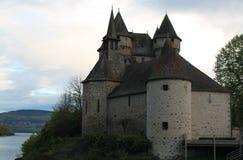 Chateau de Val, Lanobre ( France ) Royalty Free Stock Photo