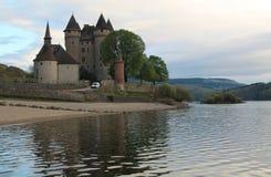 Chateau de Val, Lanobre ( France ) Stock Image