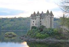 Chateau de Val, Lanobre ( France ) Stock Photos