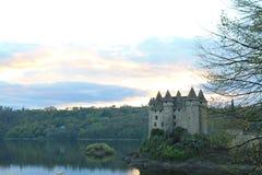 Chateau de Val, Lanobre ( France ) Stock Images