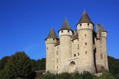 Chateau de Val at sunset Royalty Free Stock Image