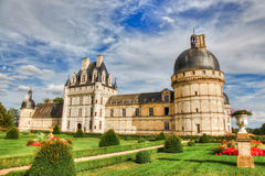 Chateau DE Valencay, Frankrijk stock foto