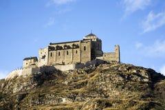 Chateau de Valere Stock Photography