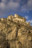 Chateau de Valere Stock Image