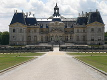 Chateau de Vaux-le-Vicomte, France Royalty Free Stock Photos