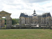 Chateau de Vaux-le-Vicomte, France Stock Photography
