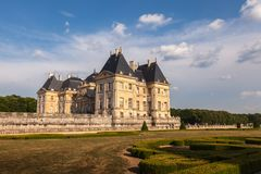 Chateau de Vaux-le-Vicomte, France Stock Images