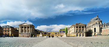 Chateau de Versailles - Entrance Royalty Free Stock Photo
