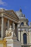 Chateau de Versailles , Outside. Paris, France - French Monuments, Chateau de Versailles , Outside of Castle Chapel,PS-51181 Royalty Free Stock Photo