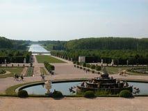 Chateau de Versailles, Paris, 2005. Chateau de versailles, back of the palace Stock Images