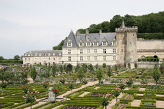 Chateau DE Villandry Royalty-vrije Stock Afbeelding