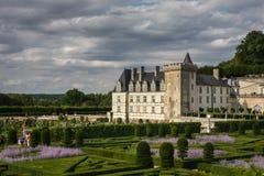 Chateau de Villandry Lizenzfreie Stockfotografie