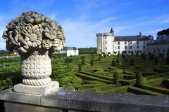Chateau de Villandry, France Photographie stock