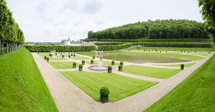 Chateau de Villandry, France Stock Photography