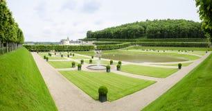 Chateau de Villandry, France Stock Photography