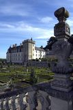 Chateau de Villandry & Gardens, Loire, France Stock Image