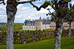 Chateau de Villandry, Loire Valley, France Stock Photography