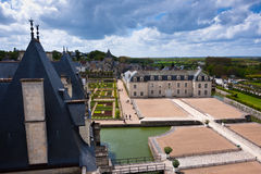 Chateau de Villandry, Loire Valley, France Royalty Free Stock Photography