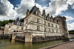 Chateau de Villandry in Loire Valley Stock Image