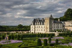 Chateau de Villandry. Loire valley, France Royalty Free Stock Photography